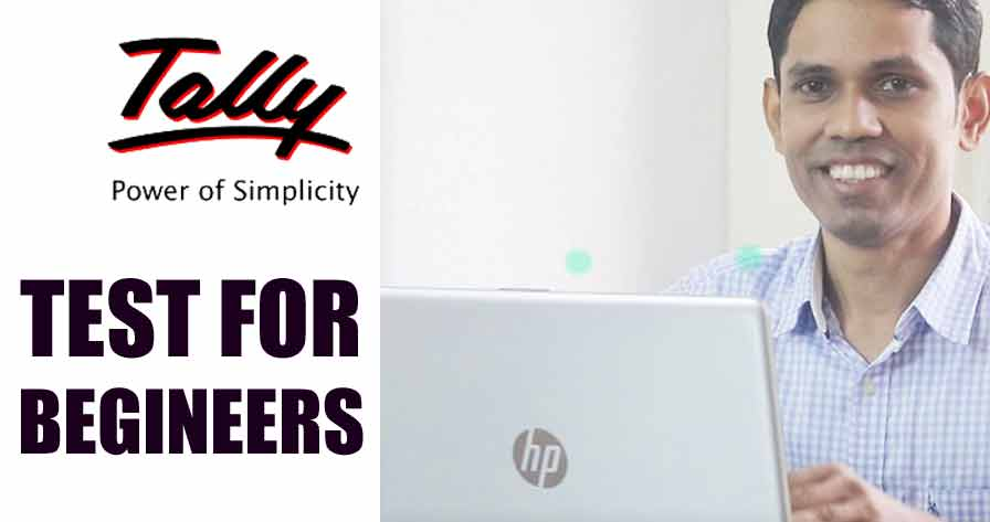 Tally Online Exam Practice Test in Hindi