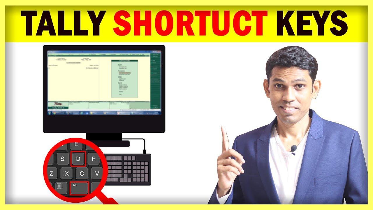 Tally Keyboard Shortcuts in Hindi