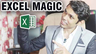 एक्सेल के ५ मैजिक प्रोग्राम्स    Excel Magic Programs