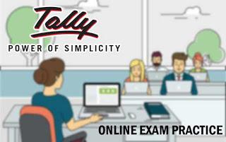 Tally ERP 9 Online Exam Practice Paper