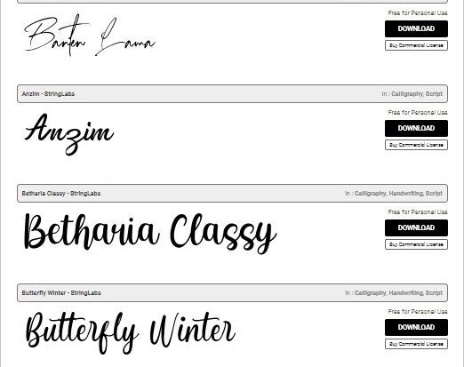 How to Install New Font