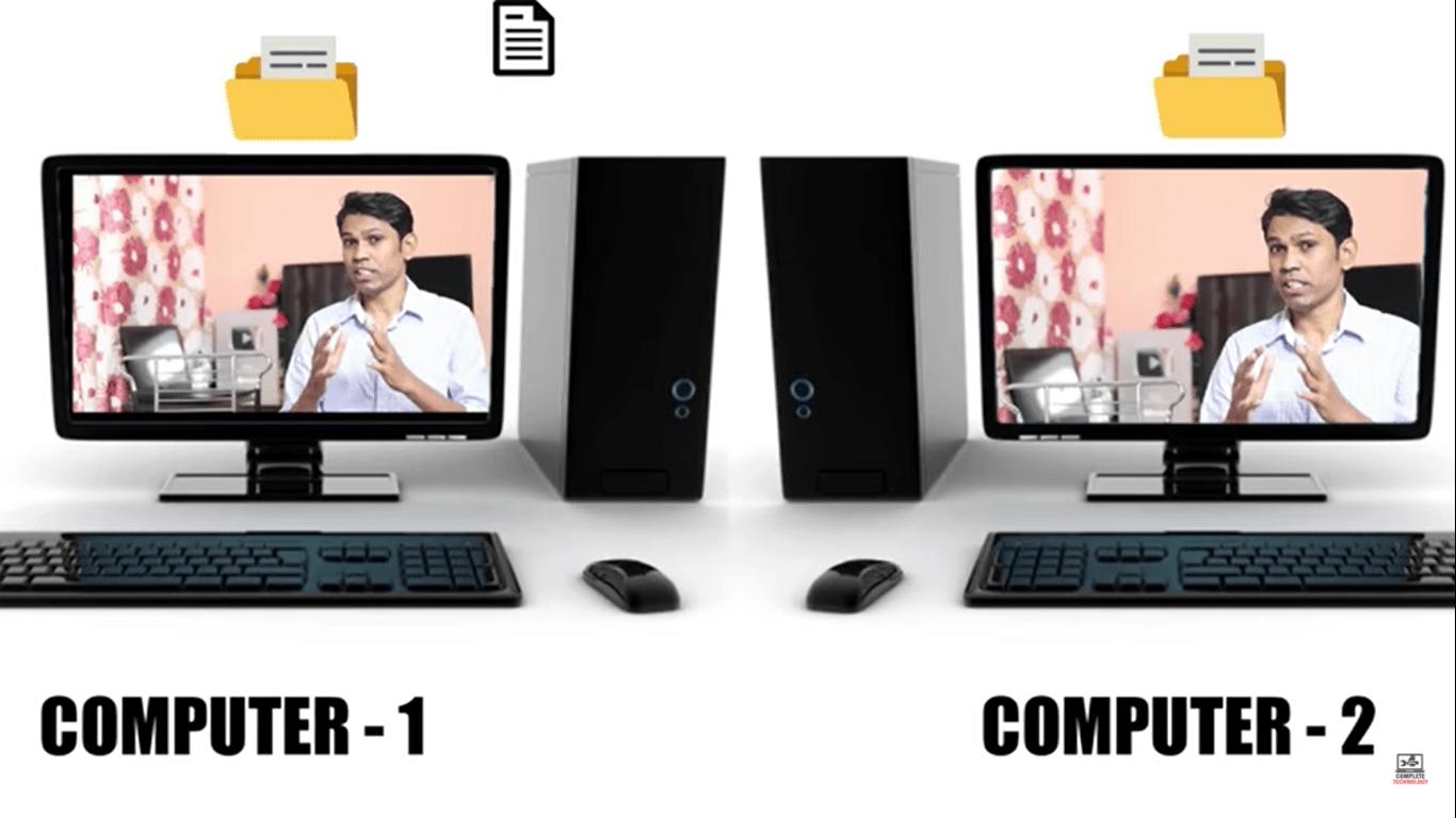 एक कंप्यूटर से दूसरे कंप्यूटर का Data कैसे प्राप्त करें?