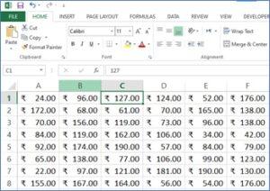 Excel quiz Image1